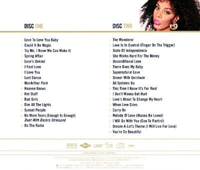 Donna Summer Gold